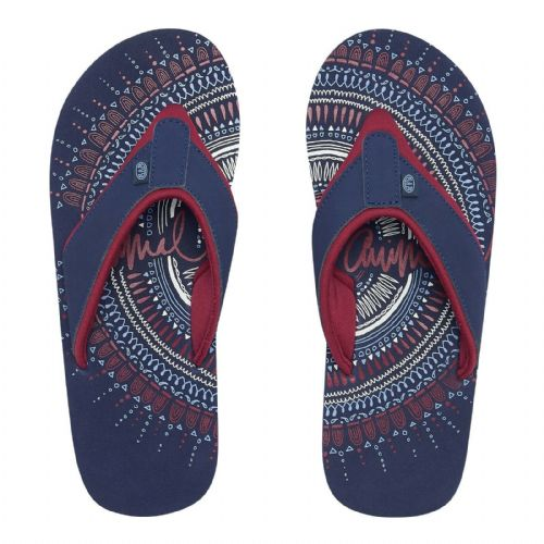 ANIMAL WOMENS FLIP FLOPS.NEW SWISH PLACEMENT NAVY SOFT TOE POST THONGS 9S 10/69